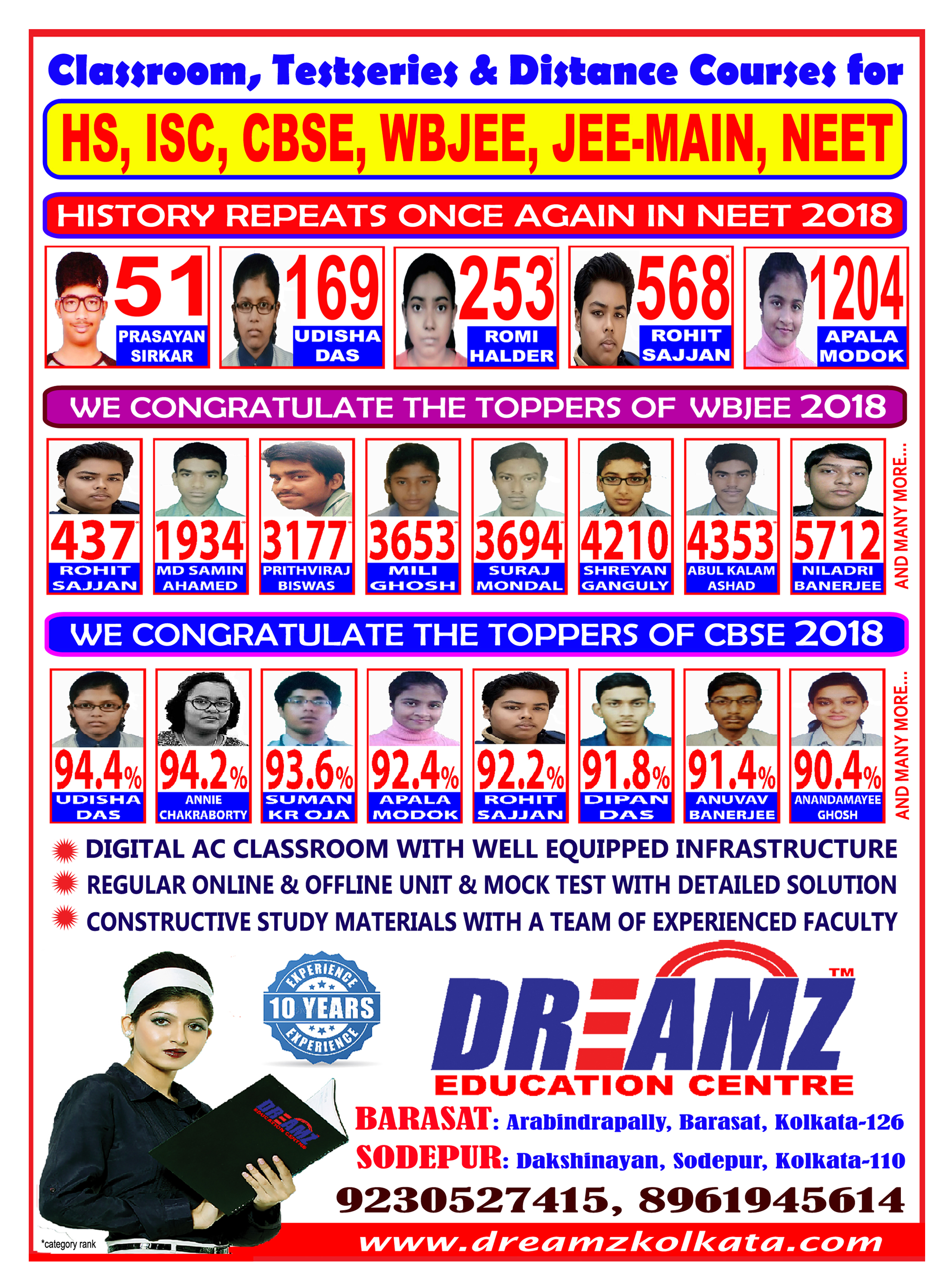 result leaflet